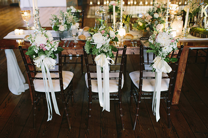 floral chair details | Brooke Courtney Photography | Glamour & Grace