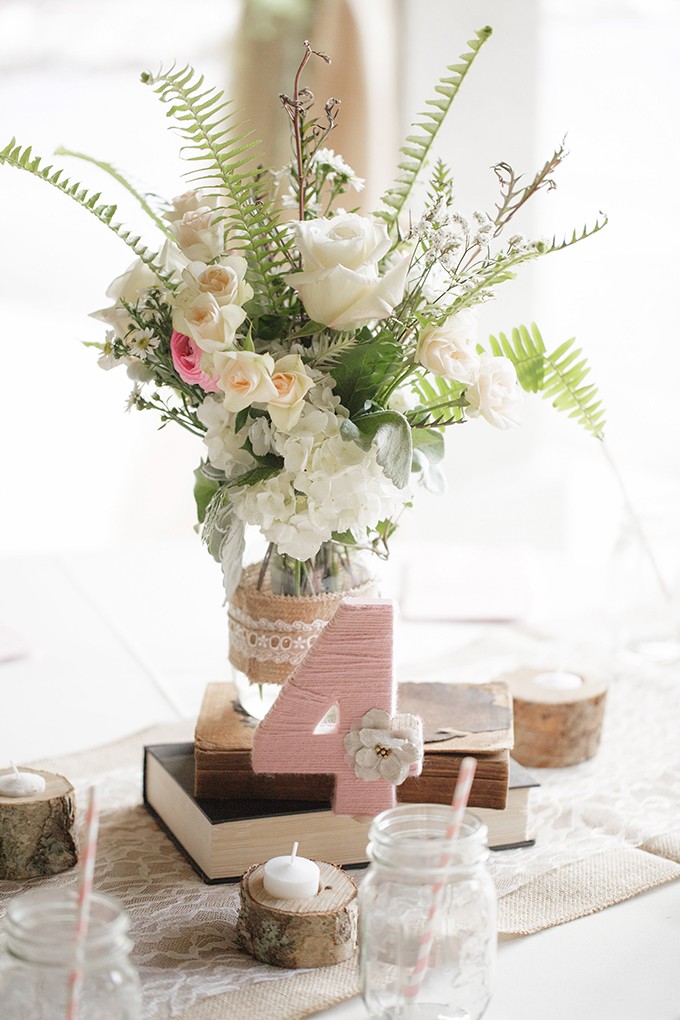 rustic centerpieces | Bumby Photography | see more on Glamour & Grace