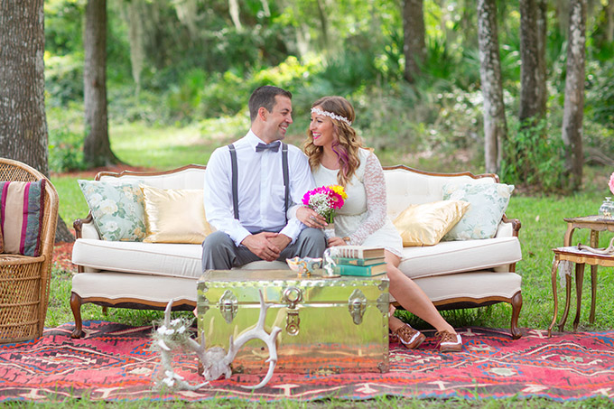 whimsical boho wedding inspiration | Jessica Bordner Photography | Glamour & Grace