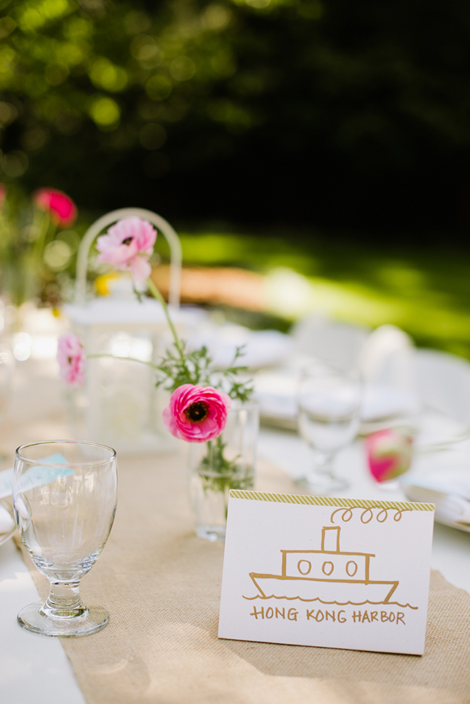 whimsical handmade centerpieces | Jasmine Lee Photography | Glamour & Grace