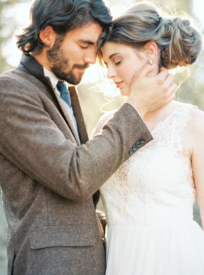 warm fall bridal portraits | Connie Dai Photography | Glamour & Grace