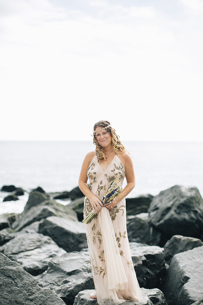 boho beach wedding | Saltwater Studios | Glamour & Grace