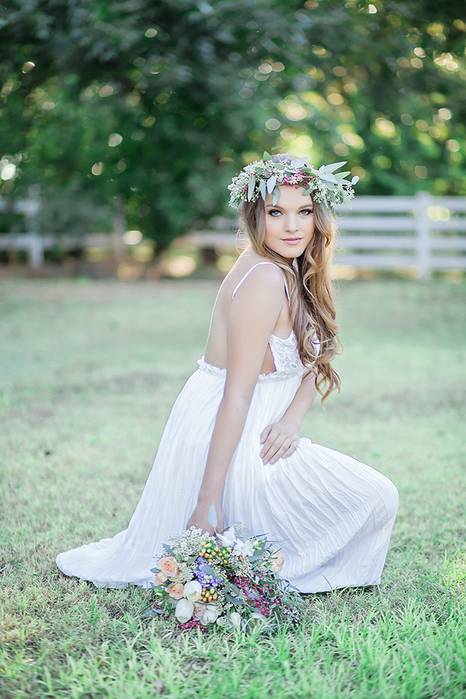 boho chic bridal portraits | Jessica Q Photography | Glamour & Grace