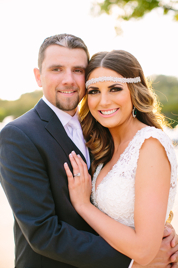 glam arrow themed wedding | Al Gawlik Photography | Glamour & Grace
