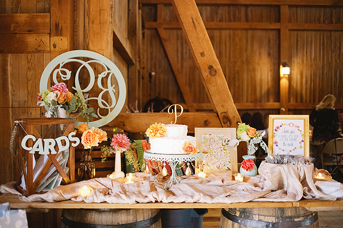 Honey brook barn wedding
