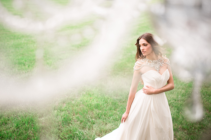 gorgeous Hayley Paige gown | Style & Story Creative | Glamour & Grace
