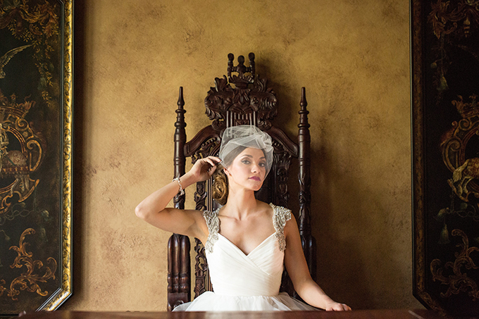 romantic Renaissance wedding inspiration | Style & Story Creative | Glamour & Grace