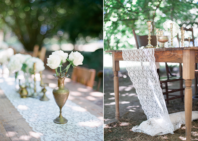 vintage farm wedding | Blue Rose Photography | Glamour & Grace