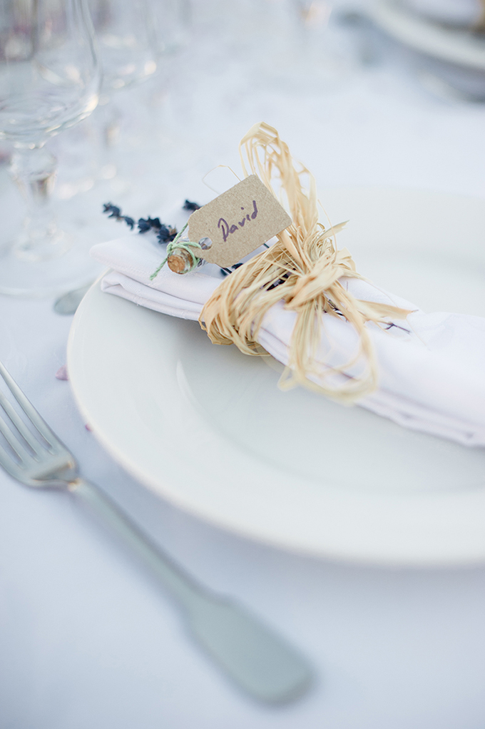 lavender place setting | Meredith Lord | Glamour & Grace