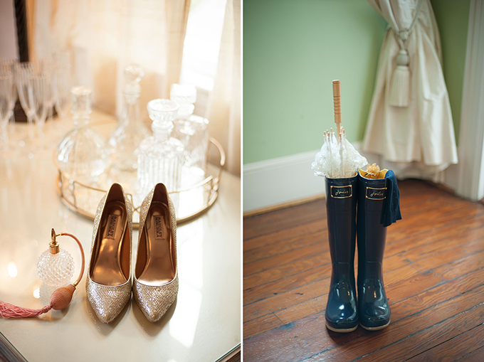 bride shoes | Stephanie A Smith Photography | Glamour & Grace