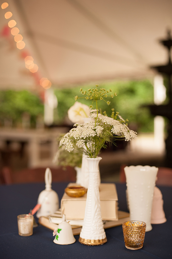eclectic centerpieces | Stephanie A Smith Photography | Glamour & Grace