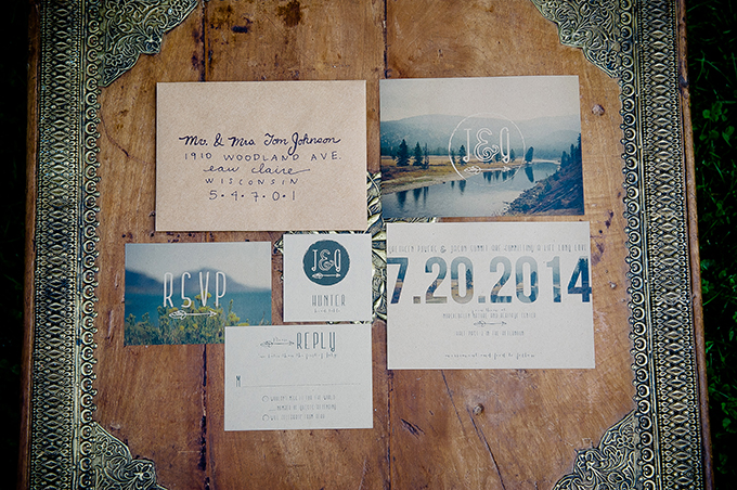 rustic invitations | Natural Intuition Photography | Glamour & Grace
