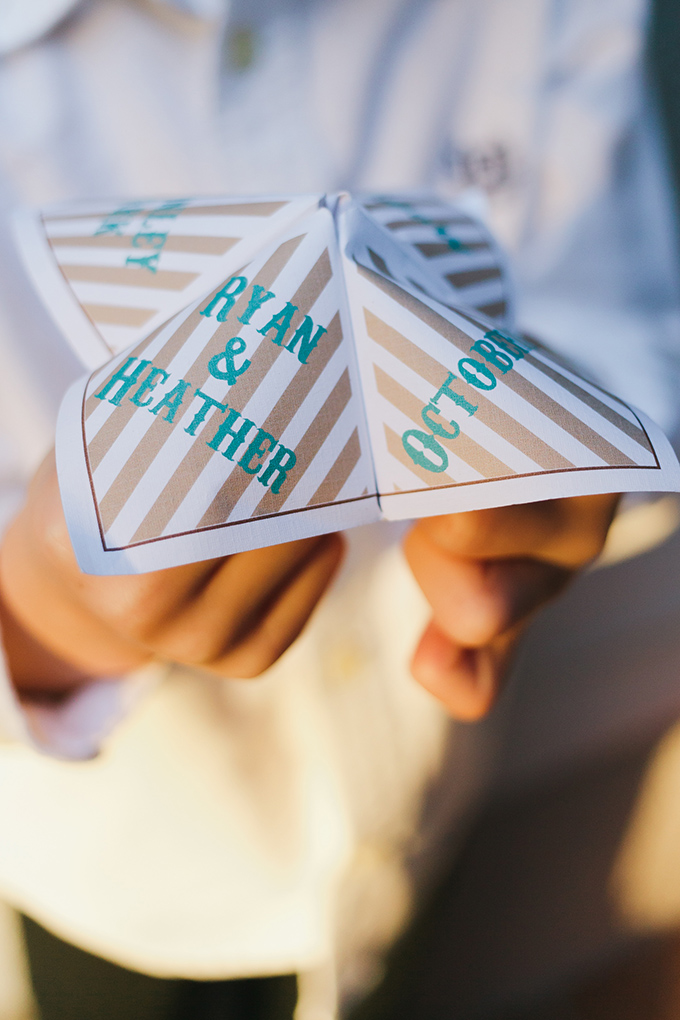 custom cootie catcher | Jessica Connery Photography | Glamour & Grace