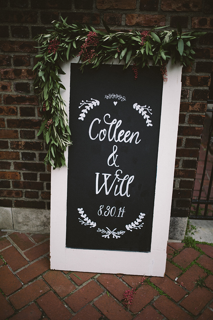 chalkboard sign | Peach Plum Pear Photo | Glamour & Grace