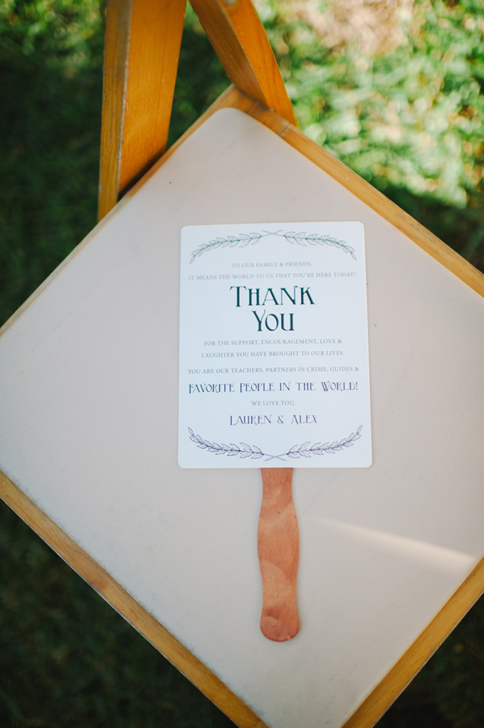thank you ceremony fans | Shea Christine Photography | Glamour & Grace
