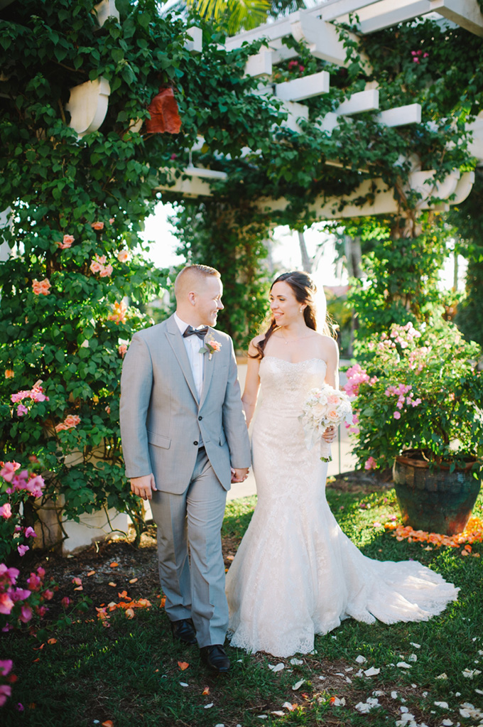 intimate peach garden wedding | Shea Christine Photography | Glamour & Grace