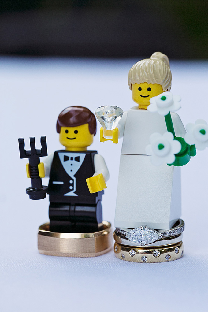 lego wedding | Tammy Swales | Glamour & Grace