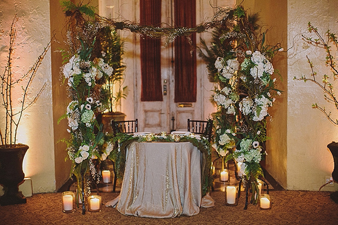 romantic sweetheart table | Maile Lani Photography | Glamour & Grace