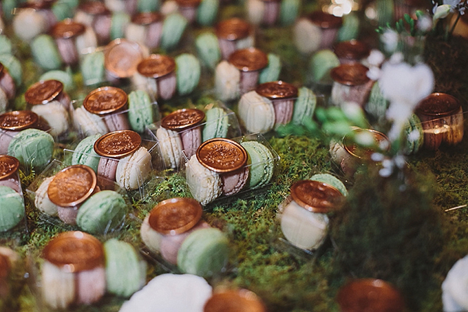 macaron favors | Maile Lani Photography | Glamour & Grace