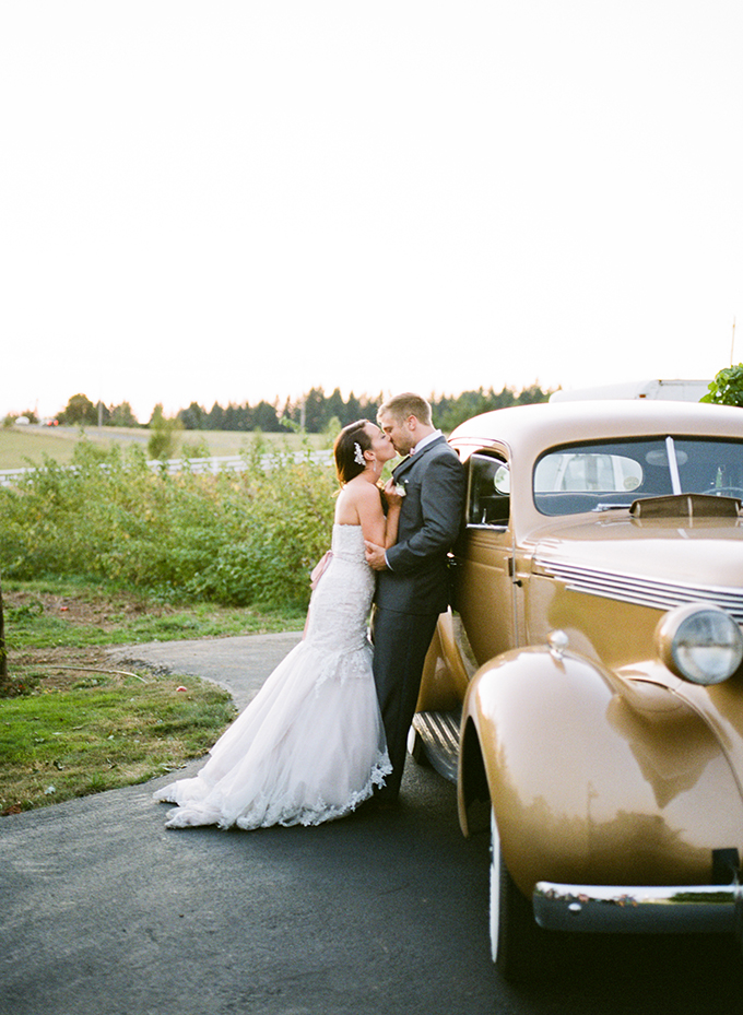 vintage car getaway | Brittany Lauren Photography | Glamour & Grace