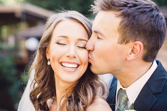 romantic forest wedding | Courtney Stockton Photography | Glamour & Grace
