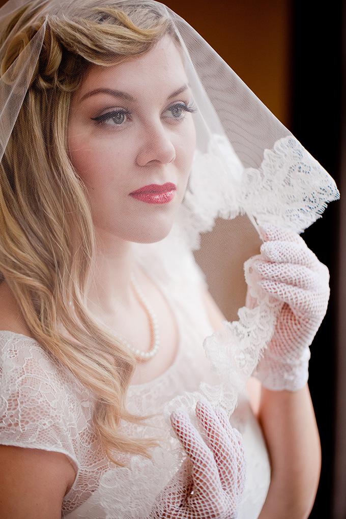 vintage bride | Jamie Zanotti Photography | Glamour & Grace
