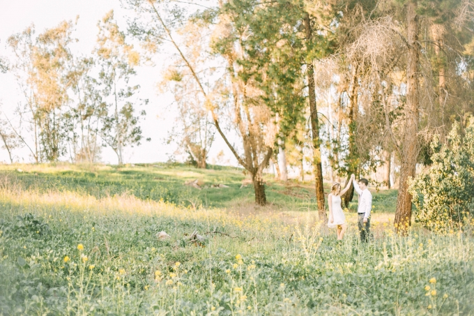 dreamy field engagement   Brittanee Taylor Photography   Glamour & Grace