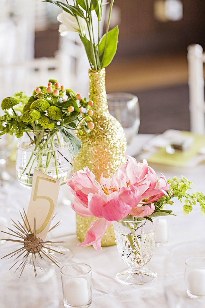 bright and colorful centerpieces | Courtney Bowlden Photography | Glamour & Grace