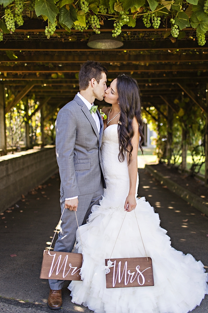 Mr and Mrs | Courtney Bowlden Photography | Glamour & Grace