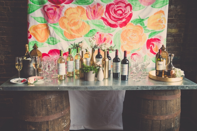 romantic Italian themed engagement party   Psalm27Creative   Glamour & Grace