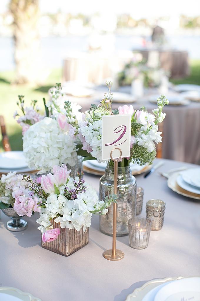 romantic purple centerpiece   Roohi Photography   Glamour & Grace