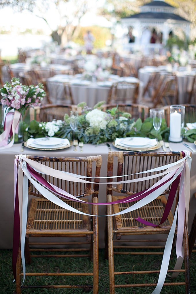 ribbon chairs | Roohi Photography | Glamour & Grace