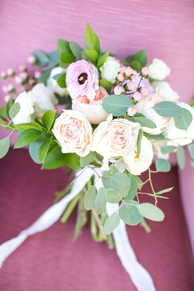 romantic bouquet | Shalese Danielle Photography | Glamour & Grace