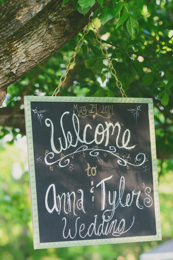 welcome chalkboard sign | Jessie Holloway Photography | Glamour & Grace