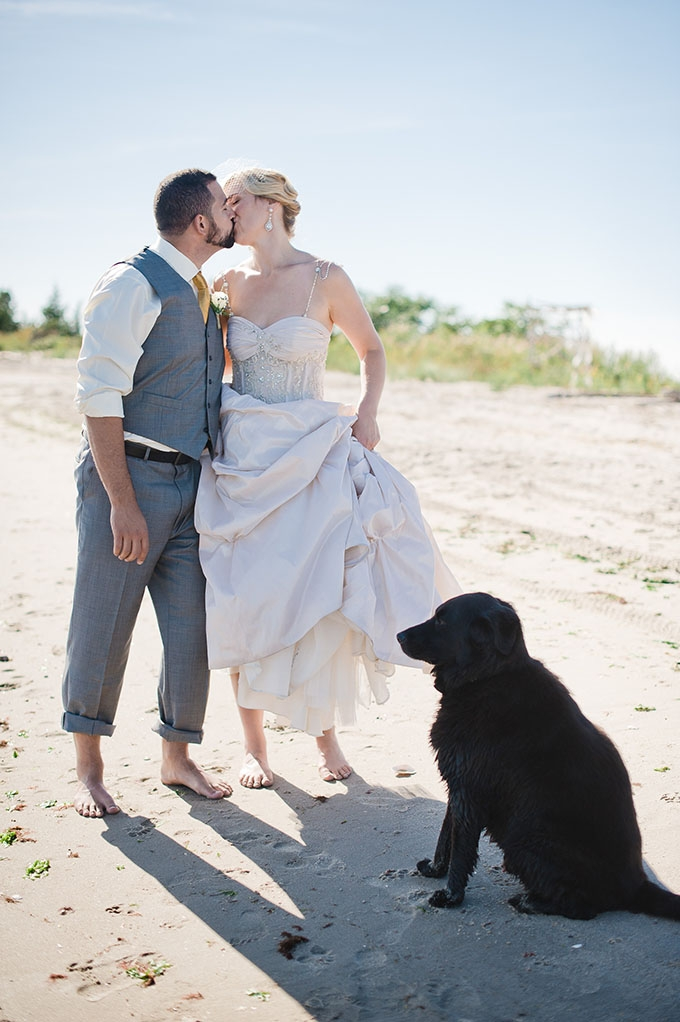 art deco beach wedding | Robyn Blasi Photography | Glamour & Grace