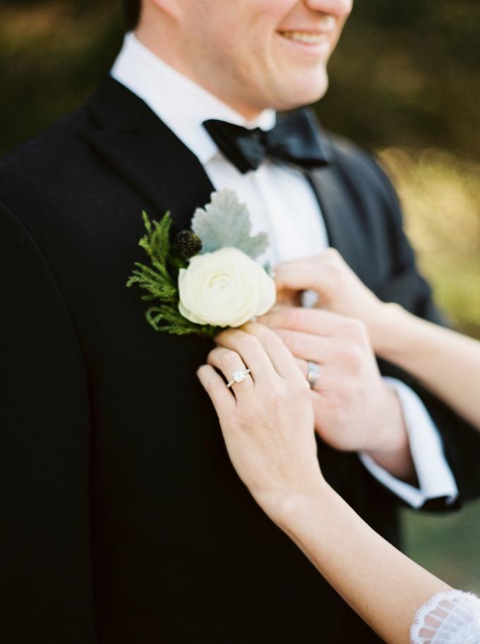 black tie groom | Elizabeth Ngundue Photography | Glamour & Grace