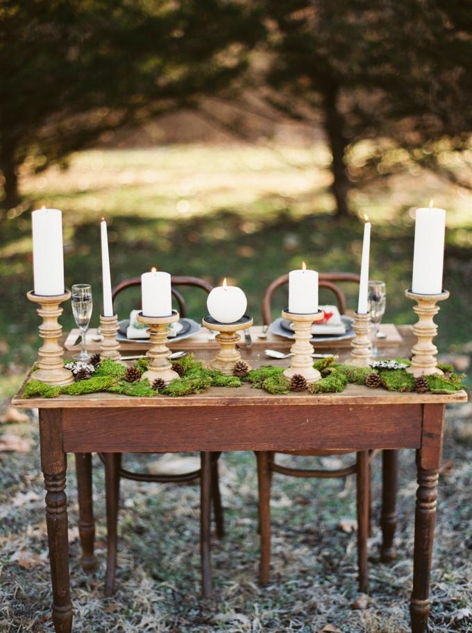 elegant woodland wedding inspiration | Elizabeth Ngundue Photography | Glamour & Grace