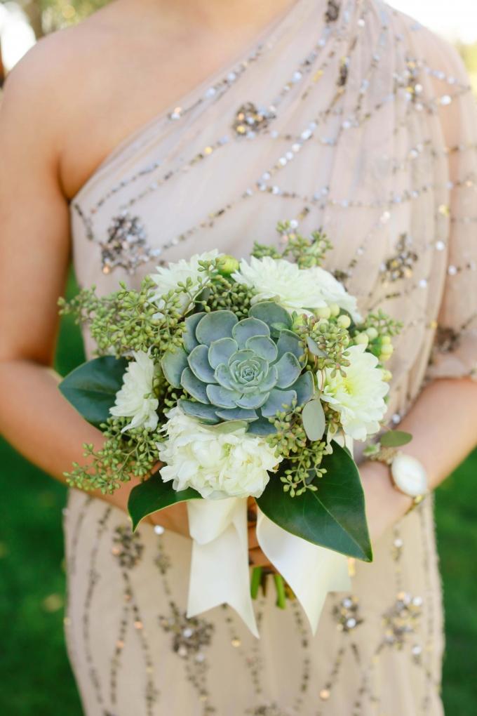 succulent bouquet | Allee J. | Glamour & Grace