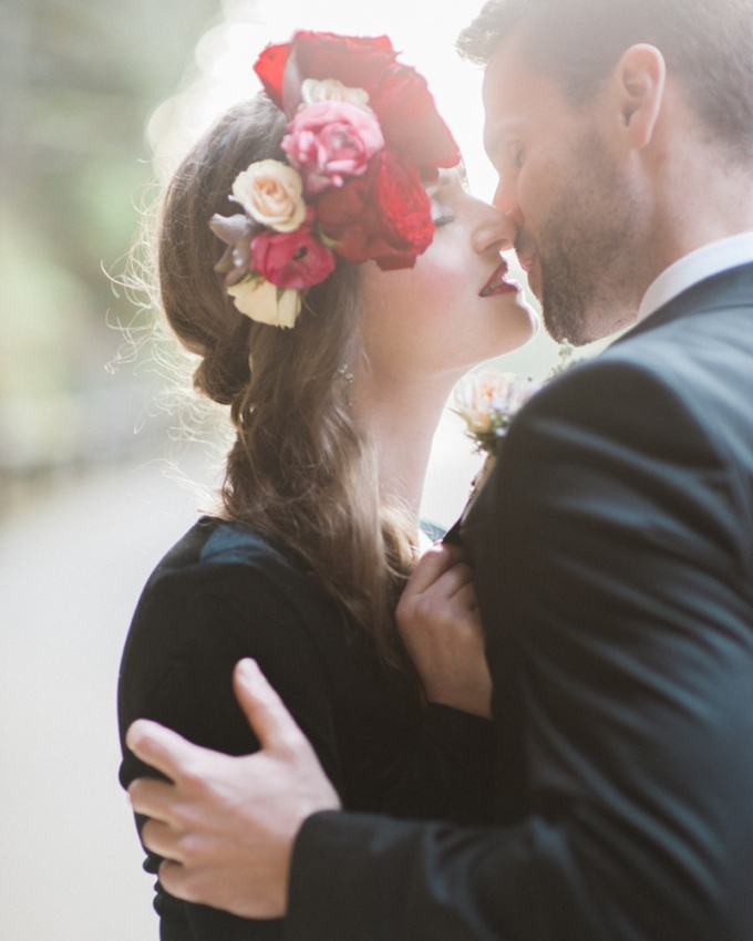 romantic glam engagement | Christa-Taylor Photography | Glamour & Grace