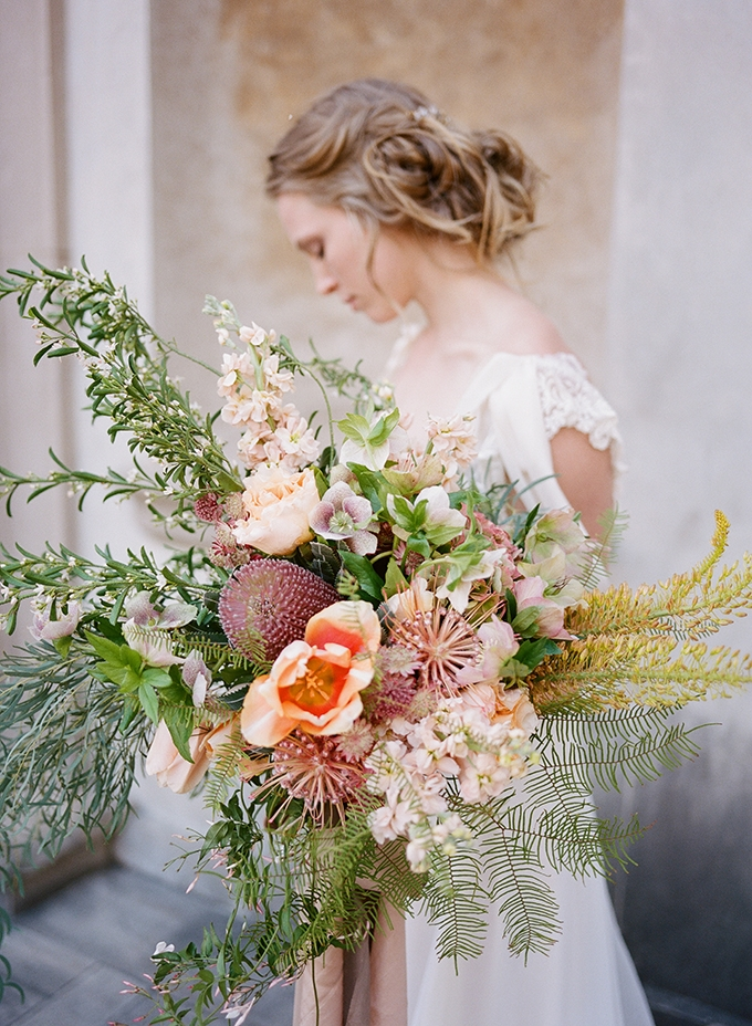 organic bouquet | Archetype | Glamour & Grace