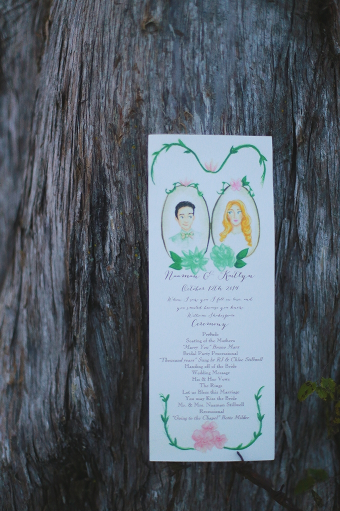 hand painted invitation| Jessie Holloway | Glamour & Grace
