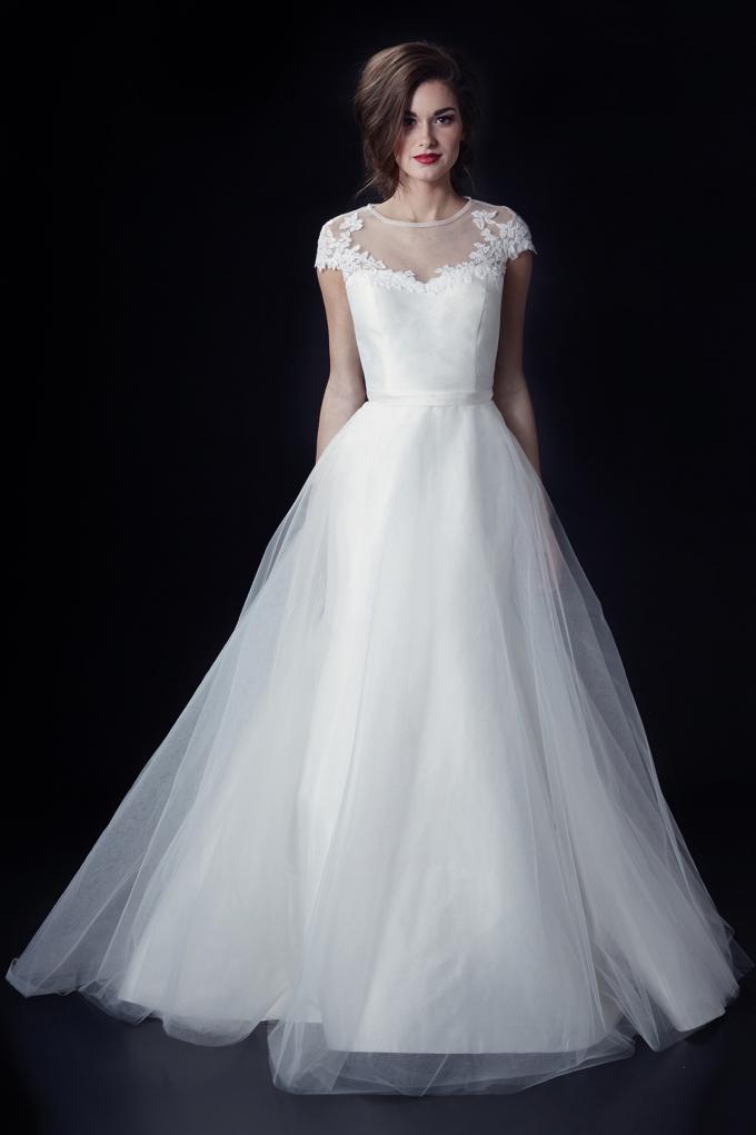 Alabaster Wedding Dress 97 Cool Heidi Elnora