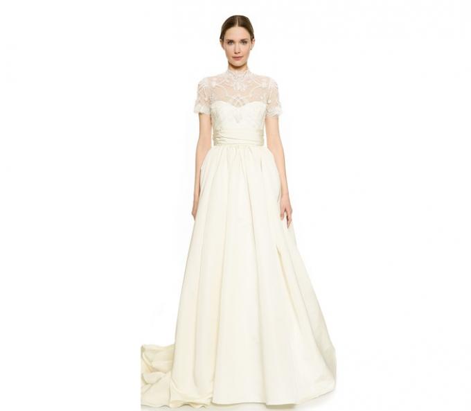 Alabaster Wedding Dress 32 Epic Marchesa