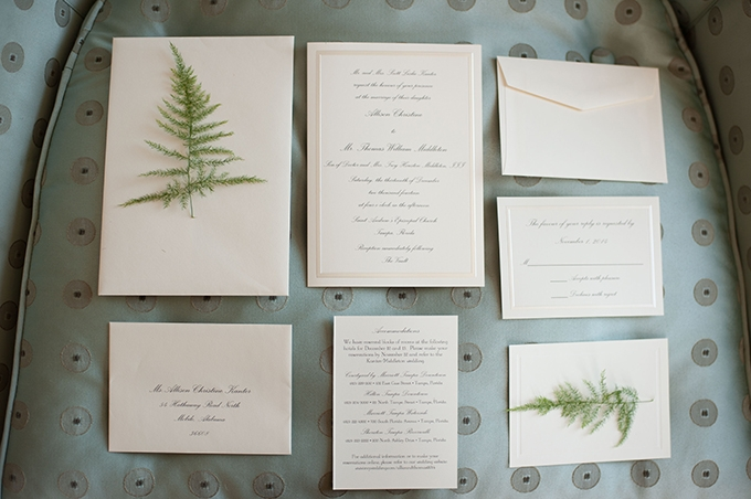classic invite | Stephanie A Smith Photography | Glamour & Grace