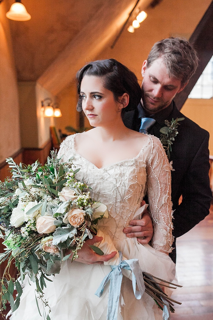 romantic French winter wedding | Bridget Rochelle Photography | Glamour & Grace