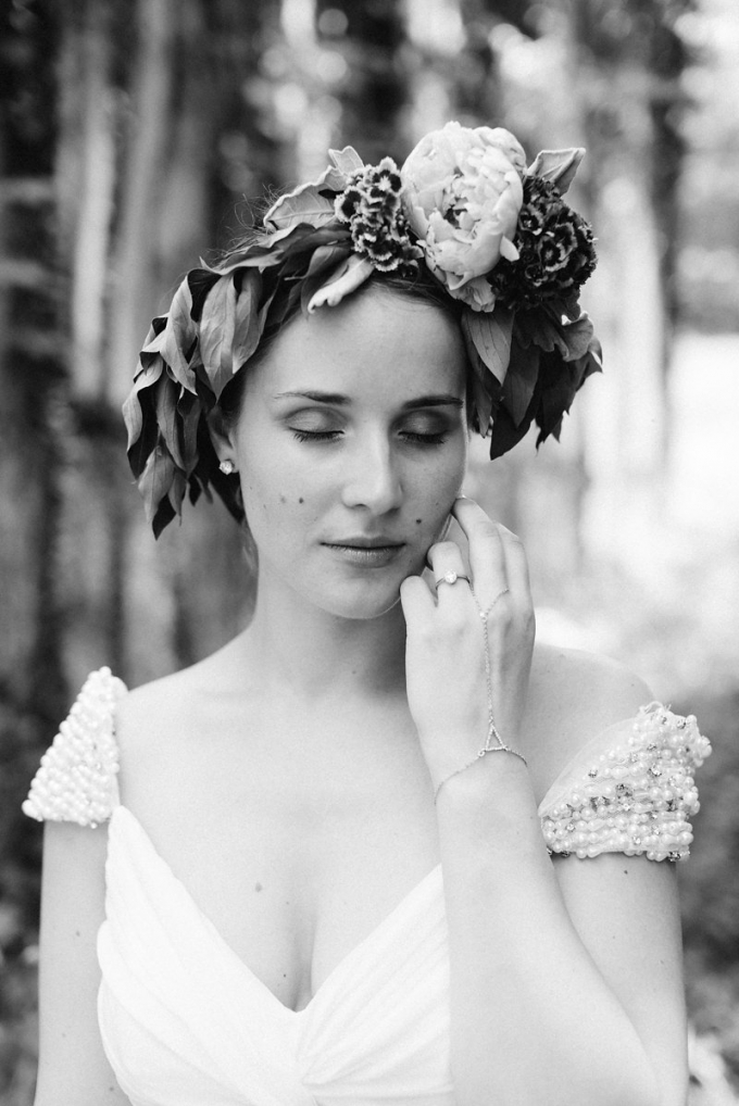 floral crown | Bekah Kay Creative | Glamour & Grace
