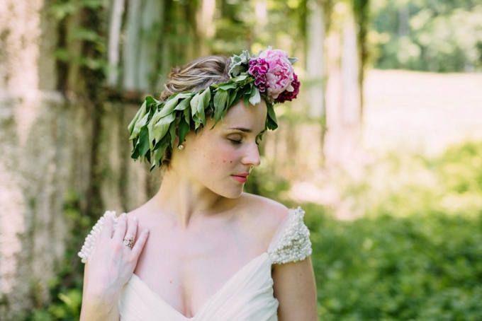 romantic bridal portraits | Bekah Kay Creative | Glamour & Grace