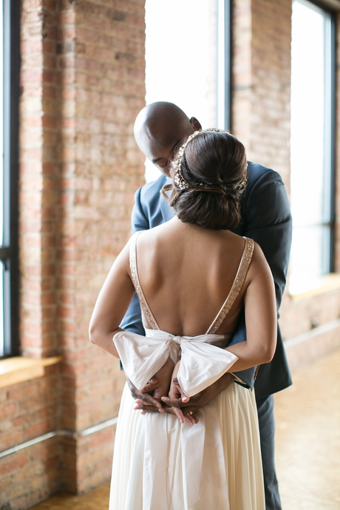 romantic loft wedding inspiration | Christy Tyler Photography | Glamour & Grace