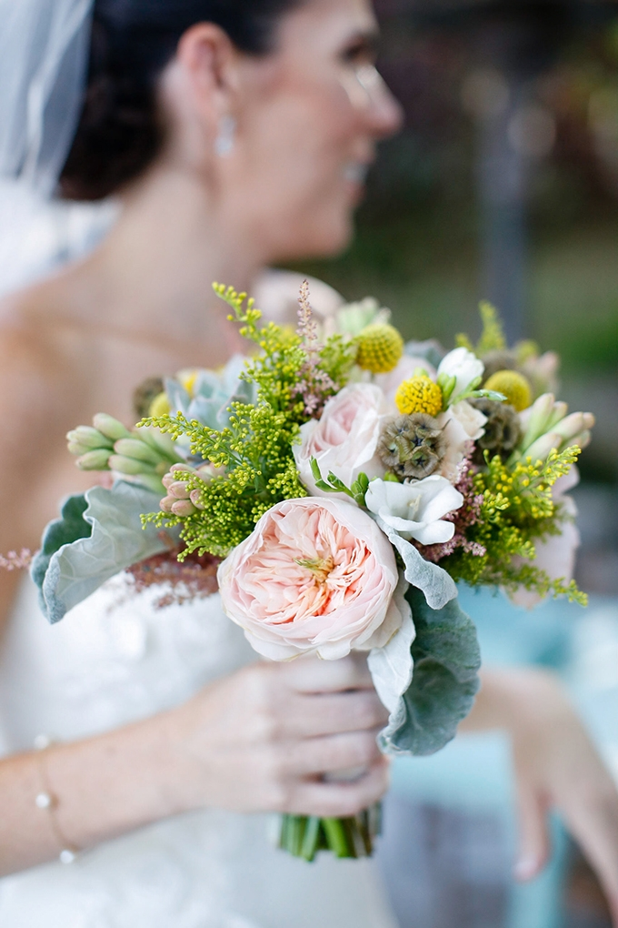 pink and yellow bouquet | Jenny Smith & Co. | Glamour & Grace