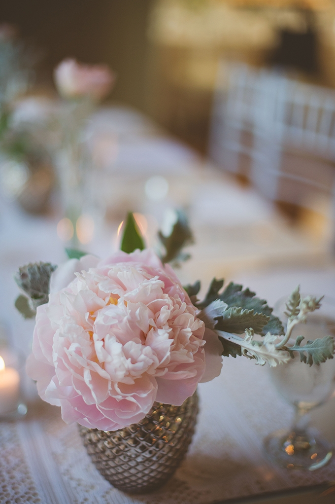 peony centerpiece | Katie Slater Photography | Glamour & Grace
